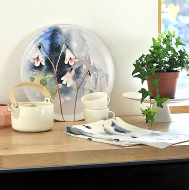 Ester Visual twinflower tray