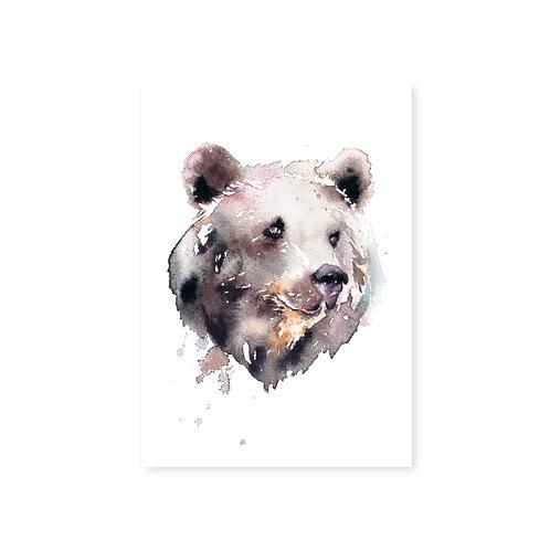 Ester Visual Bear postcard 4 x 6