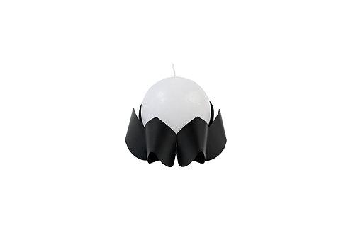 BE&LIV Palea Small candleholder black