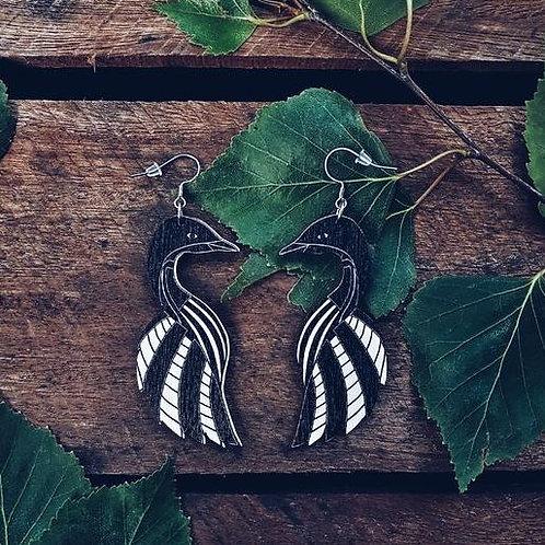 NEVER TOO LAKE Soul Birds earrings