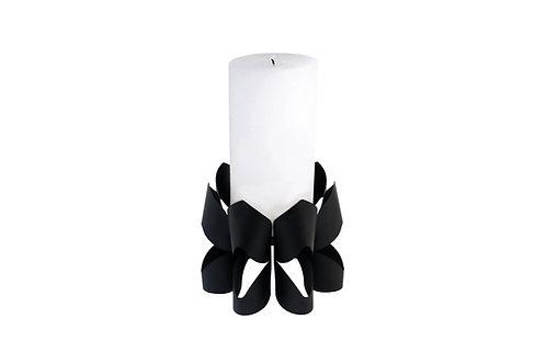 BE&LIV Palea Tall candleholder black