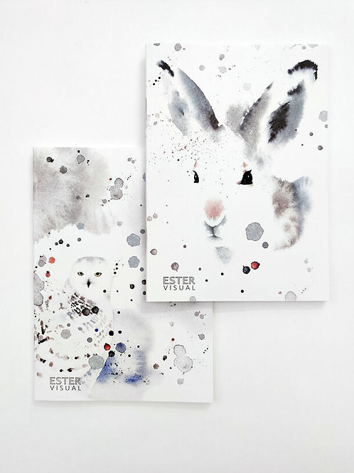 Ester Visual Hare and Owl Notebook
