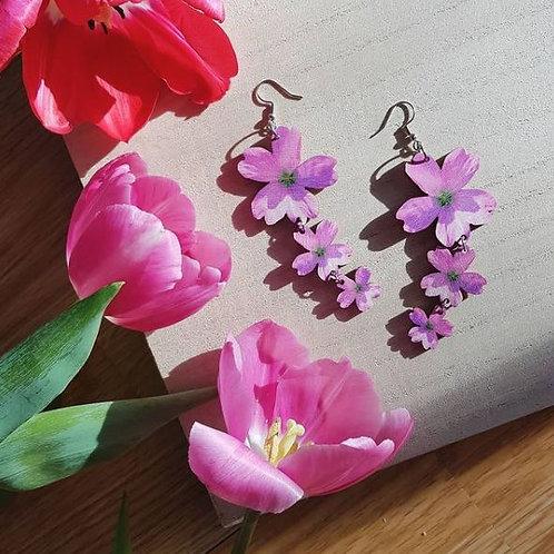 NEVER TOO LAKE Pink Moments earrings