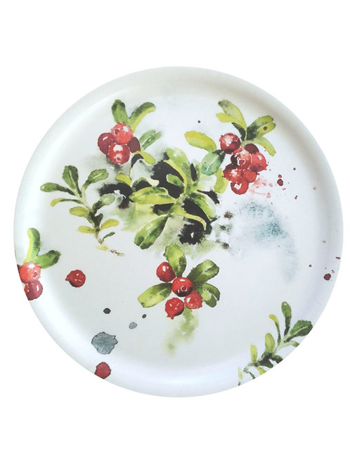 Ester Visual LINGONBERRY Tray