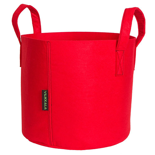 VILIKKALA Home Bag - Eco Friendly red felt bag ( 7.93 gal )