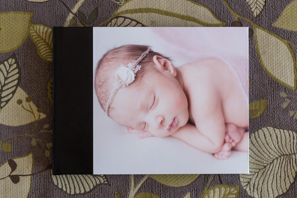 Newborn Photographer in Medicine Hat, custom album