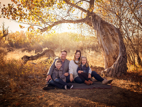 Fall Family Photography Session in Medicine Hat | Top Ten Favs