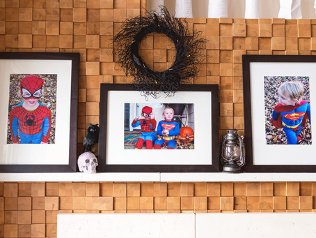 How I update my home for Halloween using photos