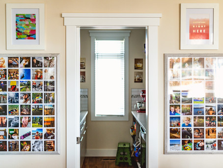 How I keep photo displays current in my home