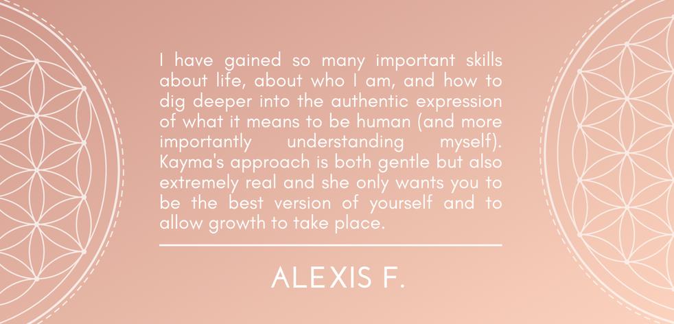 Alexis F.