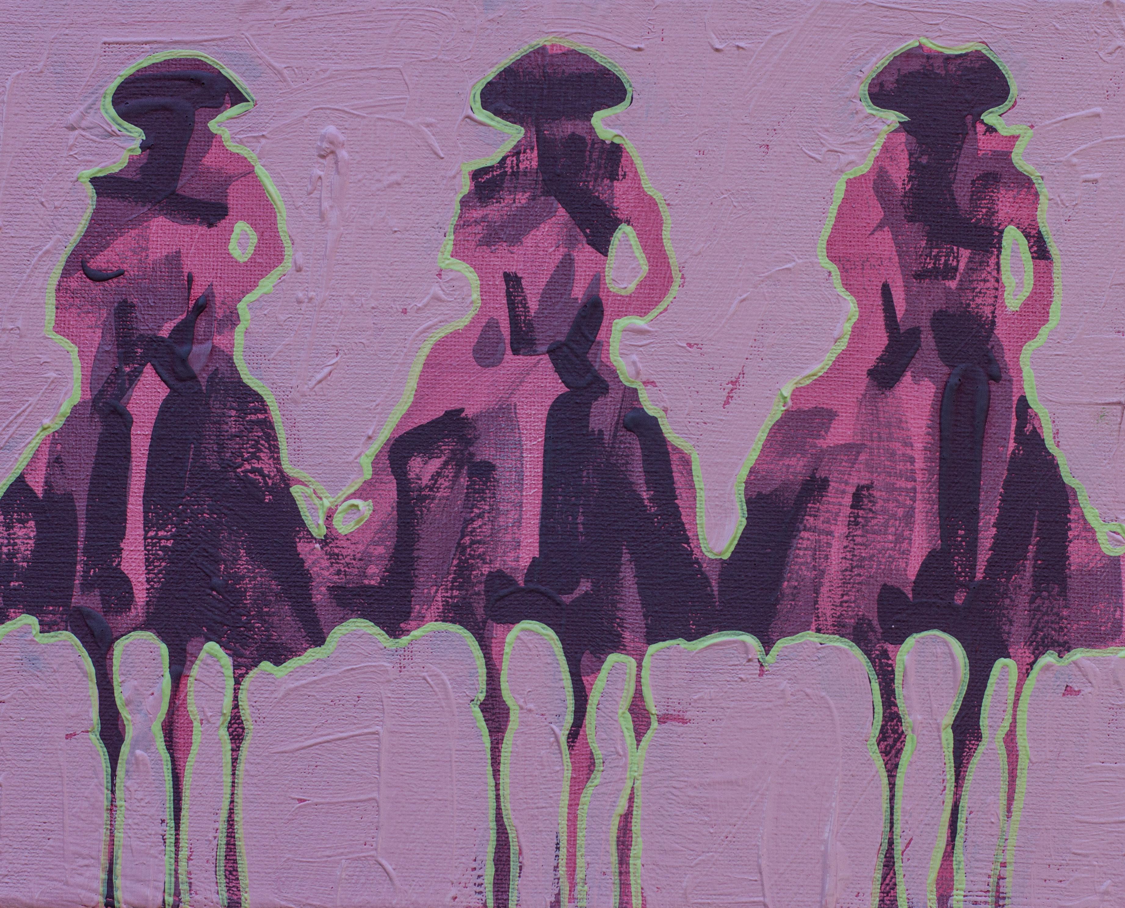 Vaqueros Pequeños Pink on Pink