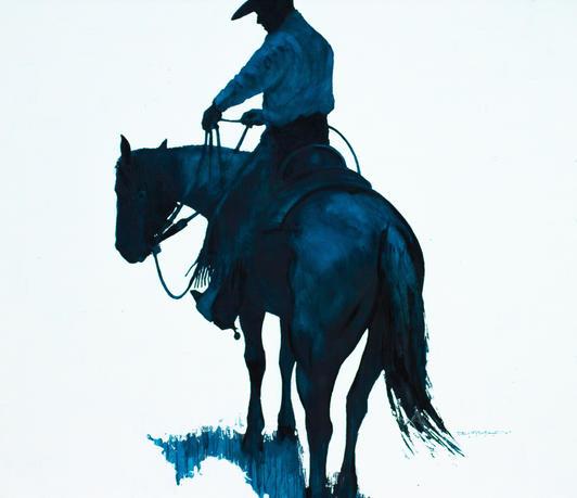 Der Blaue Reiter.