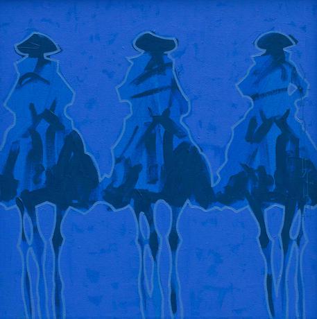 Vaqueros Brillantes - Azul