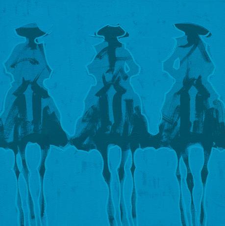Vaqueros Brillantes  - Turquesa