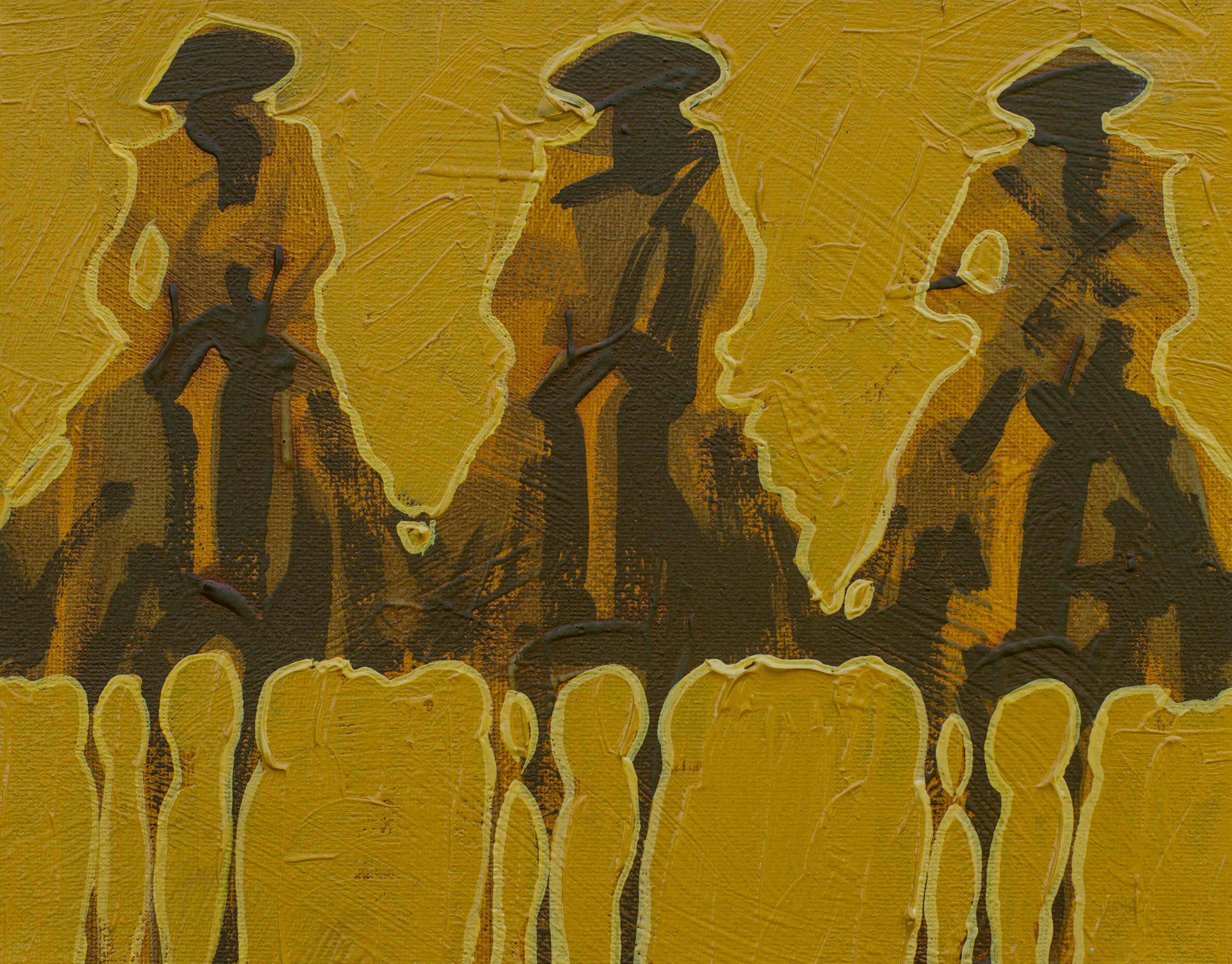 Vaqueros Pequeños Gold on Gold