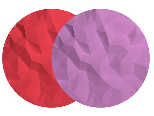 Geo Kokkino Presentation Plate - Reversible