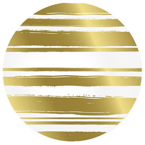 AU Yanacocha Placemat, Gold/Silver Reversible