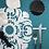 Thumbnail: FLOR DEL AVILA Coasters (Set of 4)