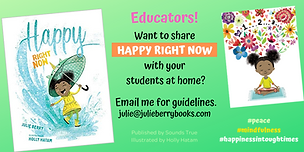 Educators want to share HAPPY RIGHT NOW