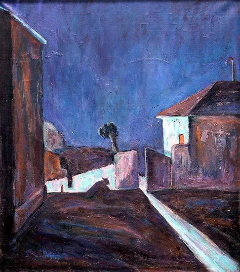 Moonlight night, Moldakul Narymbetov