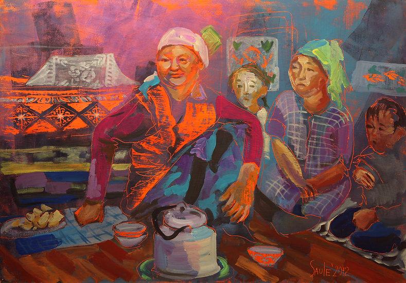 Tea Time, Saule Suleimenova