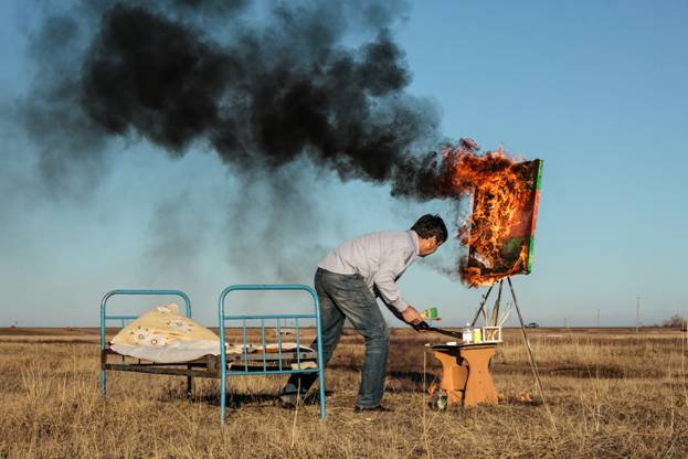 Spring cleaning, Askhat Akhmedyarov