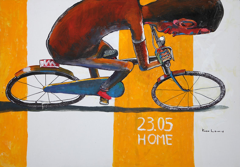 Cyclist, Leonid Khan