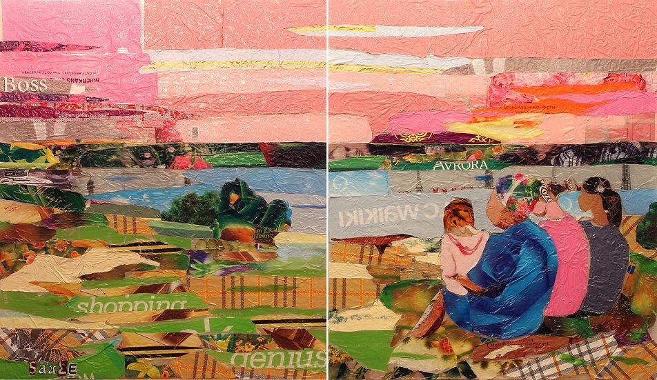 KZ Women at Sunset, Saule Suleimenova