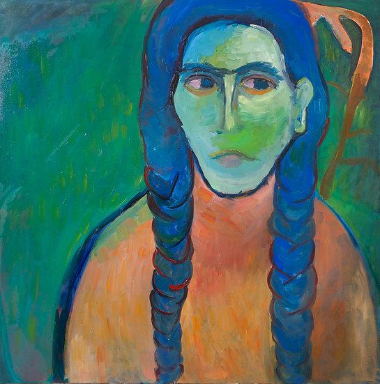 Blue Braids, Munissa Gulieva