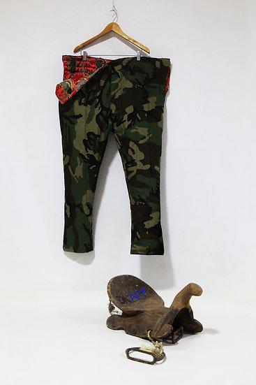 DKNY Saddle and Said's pants, Said Atabekov
