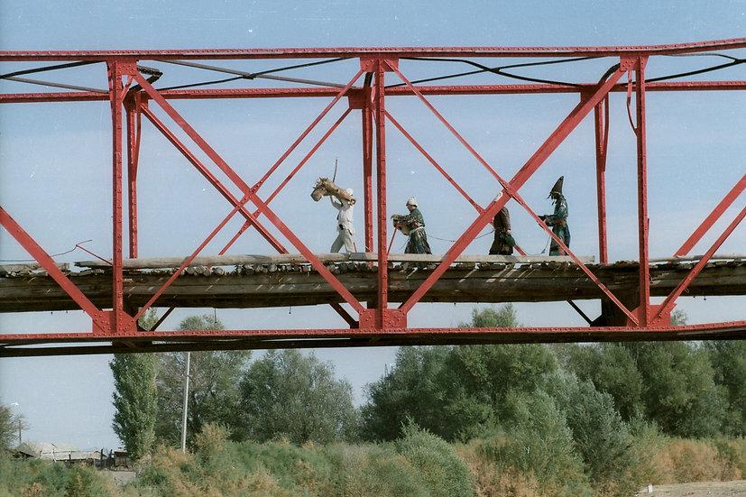 Red Bridge of Kyzyl Tractor, Kyzyl Tractor