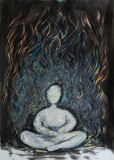 The spiritual burning, Alpamys Batyrov