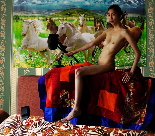 Bathing the Red Horse, remake, Bakhyt Bubikanova