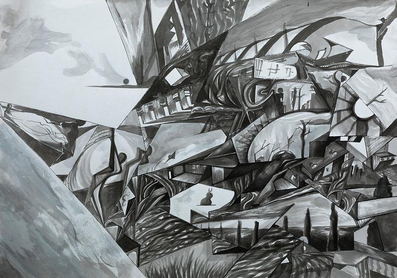 Untitled, Alpamys Batyrov