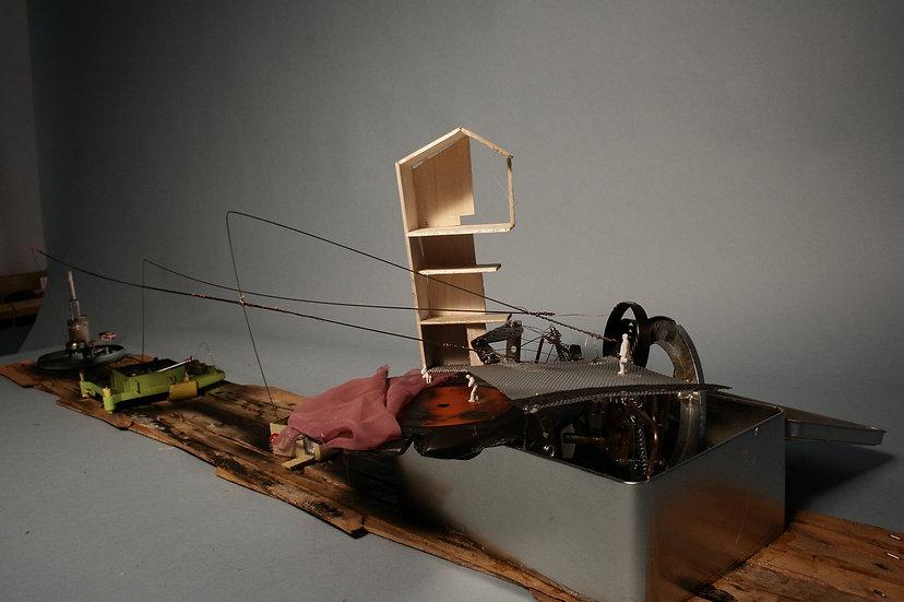 Dream Machine Apparatus I, Lena Pozdnyakova