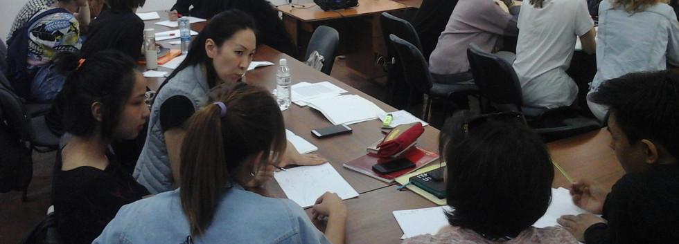 Yuliya Sorokina. Art-management. Teamwork