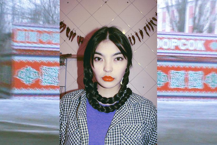 Girls of Kyrgyzstan, Aziza Shadenova