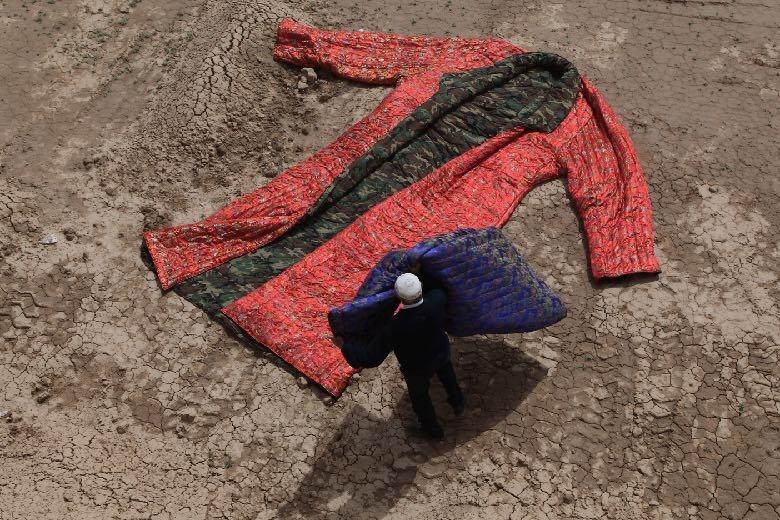 A costume of Genghis Khan, Said Atabekov