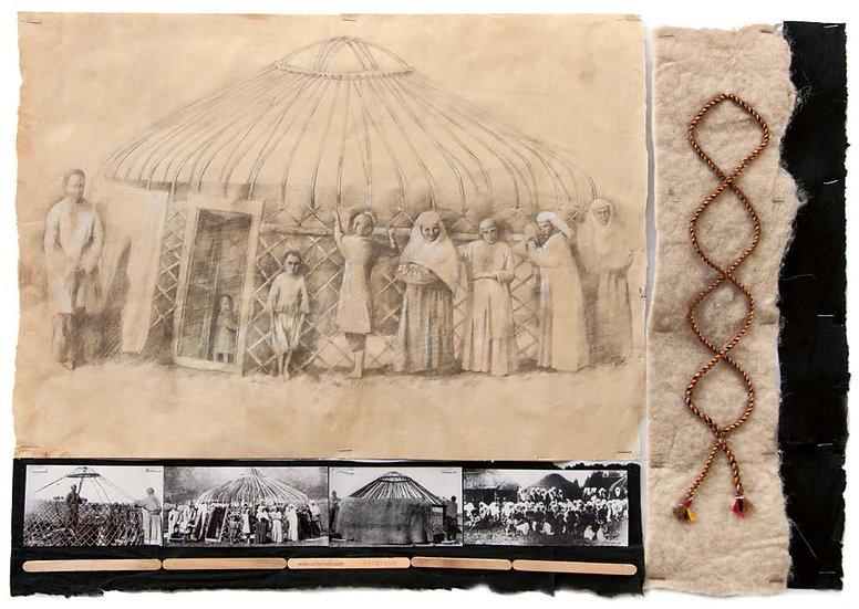 About a yurt, Saule Dyussenbina