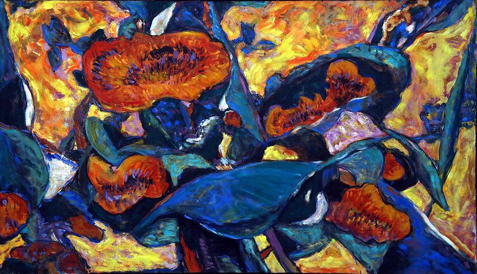 Sunflowers, Moldakul Narymbetov