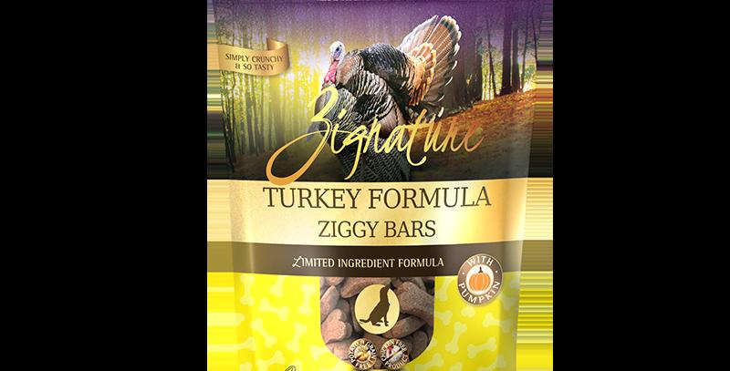 Turkey Formula Ziggy Bars Treats