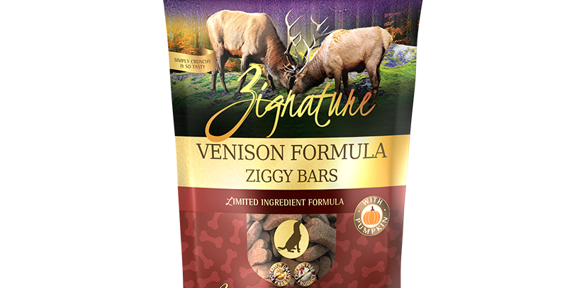 Venison Formula Ziggy Bars Treats
