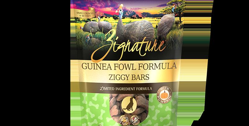 Guinea Fowl Formula Ziggy Bars Treats
