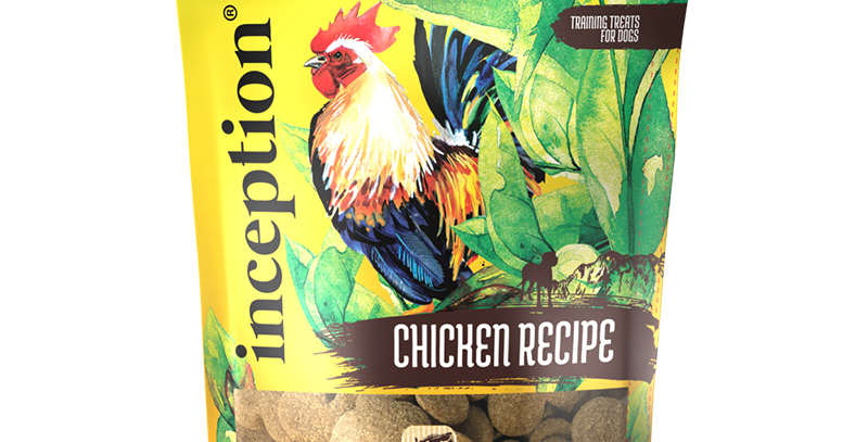 Inception Chicken Biscuit Treats for Dog 340g
