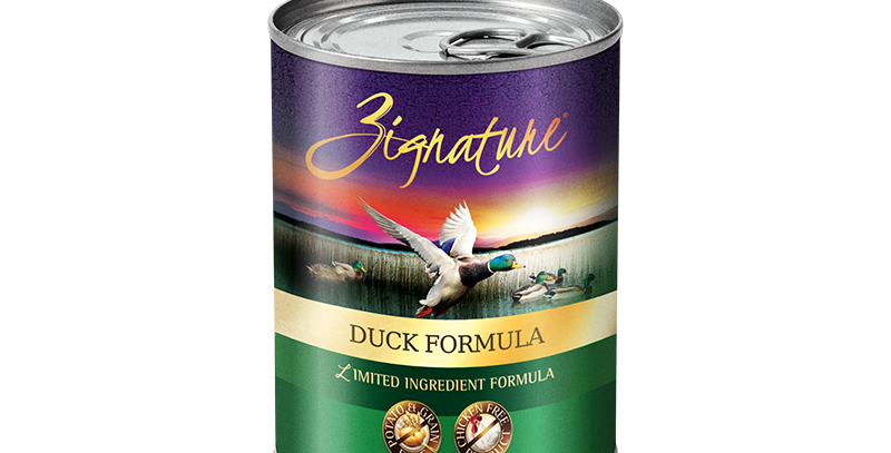 Duck Formula Canned Food 369g