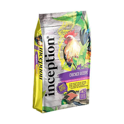 Inception Chicken Recipe Cat Food (Dry)