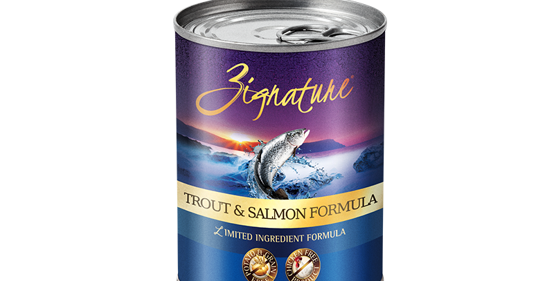 Trout & Salmon Formula Canned Food 369g