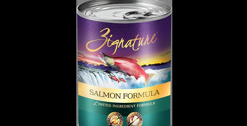 Salmon Formula Canned Food 369g