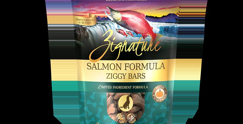 Salmon Formula Ziggy Bars Treats