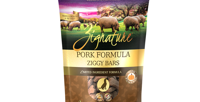 Pork Formula Ziggy Bars Treats